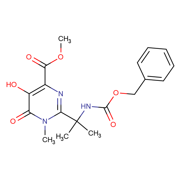 CHINA 1,6-dihydro-5-hydroxy-1-methyl-2-[1-methyl-1-[(benzyloxycarbonyl)amino]ethyl]-6-oxo-4-pyrimidine formate