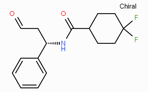 CHINA 4,4-difluoro-N-((1S)-3-oxo-1-phenylpropyl)cyclohexane formamide