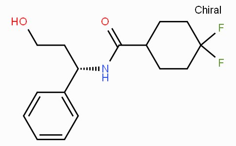 CHINA 4,4-difluoro-N-((1S) -3-hydroxy-1-phenylpropyl) cyclohexane formamide