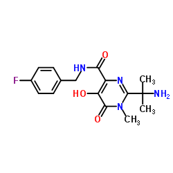 CHINA 2-(2-aminopropan-2-yl)-N-[(4-fluorophenyl)methyl]-5-hydroxy-1-methyl-6-oxopyrimidine-4-carboxamide