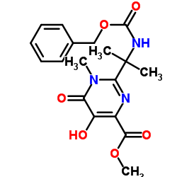 CHINA Methyl 5-hydroxy-1-methyl-6-oxo-2-[2-(phenylmethoxycarbonylamino)propan-2-yl]pyrimidine-4-carboxylate