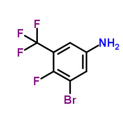 CHINA 3-bromo-4-fluoro-5-(trifluoromethyl)aniline