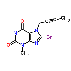 CHINA 8-Bromo-7-(but-2-yn-1-yl)-3-methyl-1H-purine-2,6(3H,7H)-dione