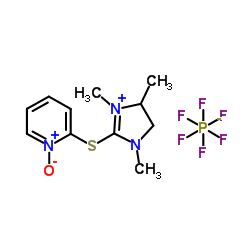 CHINA 1-oxido-2-[(1,3,4-trimethyl-4,5-dihydroimidazol-1-ium-2-yl)sulfanyl]pyridin-1-ium,hexafluorophosphate