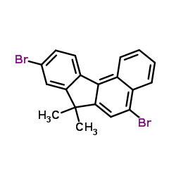 CHINA 5,9-Dibromo-7,7-dimethyl-7H-benzo[c]fluorene