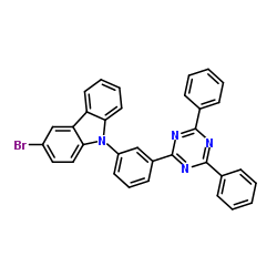 CHINA 3-bromo-9-[3-(4,6-diphenyl-1,3,5-triazin-2-yl)phenyl]-9H-Carbazole