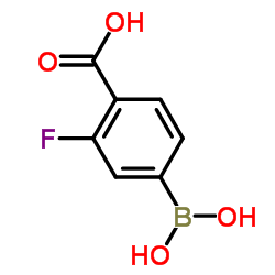 CHINA 4-Carboxy-3-fluorophenylboronic acid