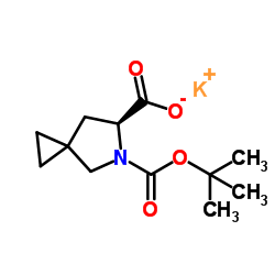 CHINA (6S)​-​5-​Azaspiro[2.4]​heptane-​5,​6-​dicarboxylic acid 5-​(1,​1-​dimethylethyl) ester potassium salt
