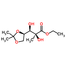CHINA ethyl (2S,3R)-3-[(4R)-2,2-dimethyl-1,3-dioxolan-4-yl]-2,3-dihydroxy-2-methylpropanoate