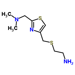 CHINA 2-[[2-[(dimethylamino)methyl]-1,3-thiazol-4-yl]methylsulfanyl]ethanamine