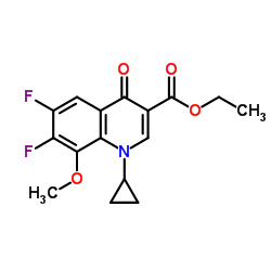 CHINA 1-Cyclopropyl-6,7-difluoro-1,4-dihydro-8-methoxy-4-oxo-3-quinolinecarboxylic Acid Ethyl Ester