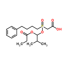 rac-Des(4-cyclohexyl-L-proline) Fosinopril Acetic Acid_123599-78-0
