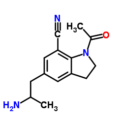 CHINA 1-Acetyl-5-(2-aminopropyl)-2,3-dihydro-1H-indole-7-carbonitrile