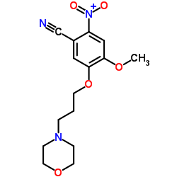 CHINA 4-methoxy-5-(3-morpholin-4-ylpropoxy)-2-nitrobenzonitrile