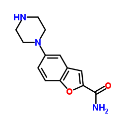 CHINA 5-piperazin-1-yl-1-benzofuran-2-carboxamide