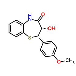 (2S-cis)-(+)-2,3-Dihydro-3-hydroxy-2-(4-methoxyphenyl)-1,5-benzothiazepin-4(5H)-one_42399-49-5