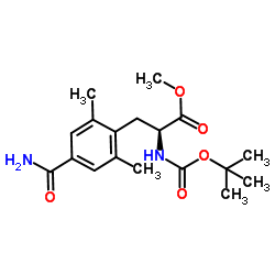 4'-carbamoyl N-Boc-2',6'-dimethyl-L-phenylalanine methyl ester_623950-05-0