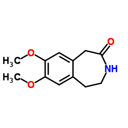 7,8-dimethoxy-1,2,3,5-tetrahydro-3-benzazepin-4-one_20925-64-8