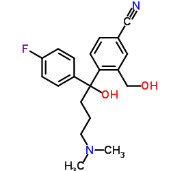 CHINA 4-[4-(Dimethylamino)-1-(4-fluorophenyl)-1-hydroxybutyl]-3-(hydroxymethyl)benzonitrile