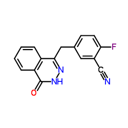 CHINA 2-fluoro-5-[(4-oxo-3,4-dihydrophthalazin-1-yl)methyl]benzonitrile