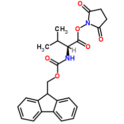 CHINA (2,5-dioxopyrrolidin-1-yl) 2-(9H-fluoren-9-ylmethoxycarbonylamino)-3-methylbutanoate