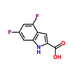 CHINA 4,6-difluoro-1H-indole-2-carboxylic acid